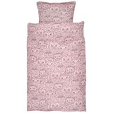 Soft Gallery Bed Linen Adult Coral, AOP Owl