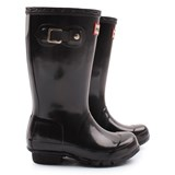 Hunter Original Kids Black Gloss