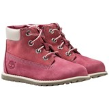Timberland Kids Pokey Pine 6In Boot with Zip Pink Nubuck