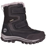 Timberland Kids Black Two-Strap Chillberg Boots