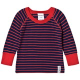 Geggamoja Wool sweater Marine/orange