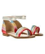 Chloé Rainbow Leather Sandals