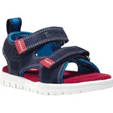 Timberland Kids Blue and Red Piermont Toddler Sandals