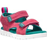 Timberland Kids Pink and Green Piedmont Toddler Sandals