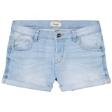 Mayoral Light Wash Denim Shorts