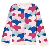 Livly Zip Up Sweatshirt Cloud Print Allover