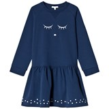 Livly Sweatshirt Dress Sleeping Cutie/navy