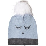 Livly Blue Sleeping Cutie Cashmere Hat