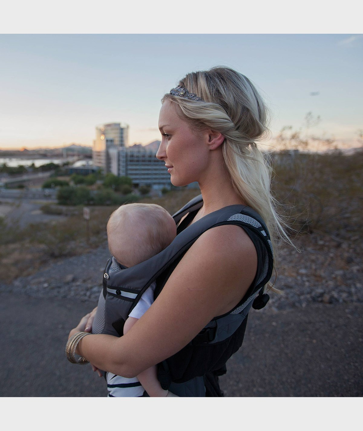 Ergobaby Babycarrier Performance Ventus Grey Black Alexandalexa