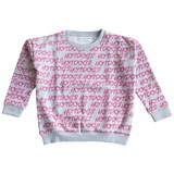 Gardner and The Gang Grey and Pink Hotdogs Print Sweatshirt
