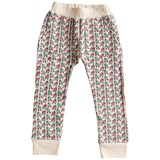 Gardner and The Gang Beige Printed Hangout Trousers