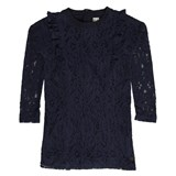 Hust&Claire Blue Lace Top