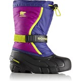 Sorel Grape Juice and Plum Flurry Youth Winter Boot
