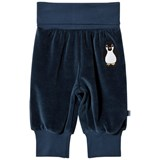 Småfolk Navy Penguin Baby Bottoms