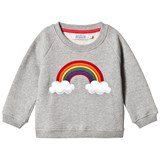ANÏVE for the minors Sweater Rainbow Grey Marl