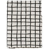 Noe & Zoe Berlin Black Grid Junior Bedsheet