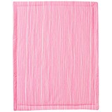 Noe & Zoe Berlin Neon Pink Stars And Stripes Rectangle Playmat