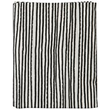 Noe & Zoe Berlin Black Stripes Junior Bedsheet