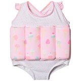 Sunuva Pink Girls Ice Cream Float Suit
