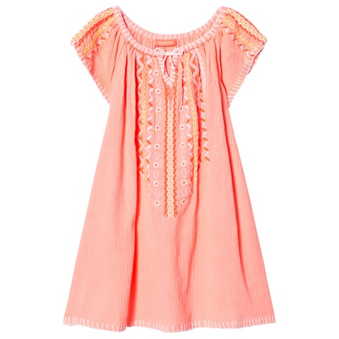 Sunuva Pink Cheesecloth Dress