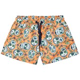 Sunuva Orange Boys Mexican Skull Swim Shorts