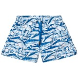 Sunuva Blue Boys Shark Swim Shorts