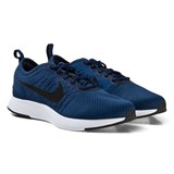 Nike Navy and Black Junior Dualtone Racer Trainers