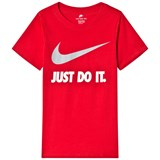 Nike Red Just Do It Tee