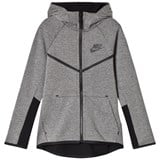 Nike Grey Sportswear Tech Fleece Full Zip Hoodie