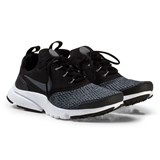 Nike Black and Grey Presto Junior Trainers