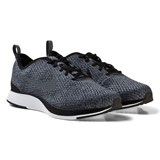 Nike Black and Grey Dualtone Racer Junior Trainers