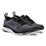 Nike Black and Grey Dualtone Racer Kids Trainers