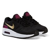 Nike Black and Gold Air Max Zero Essential Kids Trainers