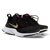 Nike Black and Gold Presto Trainers