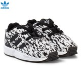 adidas Originals Black ZX Flux Infants Trainers