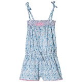 Sunuva Blue Liberty Print Playsuit