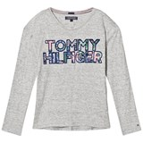 Tommy Hilfiger Grey Multi Motif Branded Tee