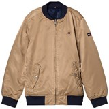 Tommy Hilfiger Navy Reversible into Tan Bomber Jacket