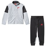Nike Grey and Black Nike Air Tricot Tracksuit