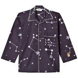 Gardner and The Gang Black Star Print Night Shirt