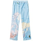 Gardner and The Gang Blue Map Print Pyjama Trousers
