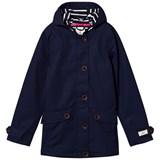 Joules Navy Waterproof Hooded Coat