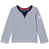 Joules Blue Breton Stripe Long Sleeve Tee