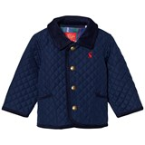 Joules Navy Quilted Infants Jacket