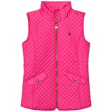 Joules Pink Quilted Gilet