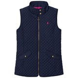 Joules Navy Quilted Gilet