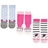 Joules 3 Pack of Horse, Rabbit and Mouse Socks