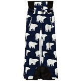 Perfect Moment Navy with White Bear Print Chamonix Pant