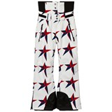 Perfect Moment White Star Print Chamonix Ski Pant