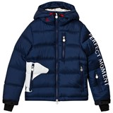 Perfect Moment Navy Super Mojo Bear Print Jacket